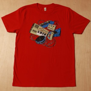 Synare & MT-40 T-shirt - Red