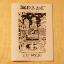 Ink & Dub Zine - Lost Worlds - Colouring Book