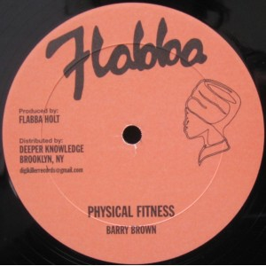 BARRY BROWN - PHYSICAL FITNESS/ROOTS RADICS BAND - WHIP THEM/FIGHTING RADICS