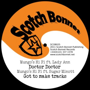 Mungo's Hi Fi ft. Lady Ann - Doctor Doctor MP3