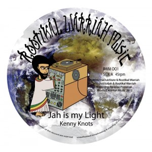 Kenny Knots - Jah Is My Light / Rootikal Warriah - Messiah dub 12""