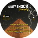"Reality Shock - Ancient Time EP 12"" (Soom T / Solo Banton / Afrikan Simba)"