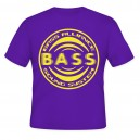 Bass Alliance Limited purple/yellow Tshirt